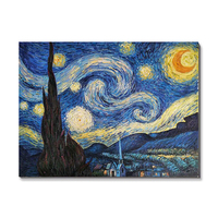 Famous abstract van gogh Starry Night reproduction oil paintings