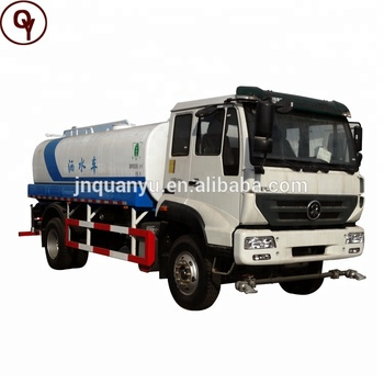 Sinotruk Steyr 4X2 steel pressure water tank 18000L to 26000l for sale