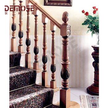 Interior Round Wood Stair Railings