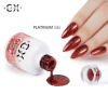 Platinum Gel Diamond Color Gel For Nail Art Color Foil Gel Polish With Factory Price