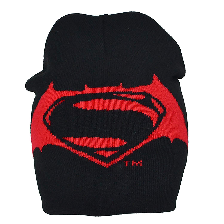 Get Quotations · Batman v Superman Childrens Boys Official Roll Down Hat 795d26b96b3e