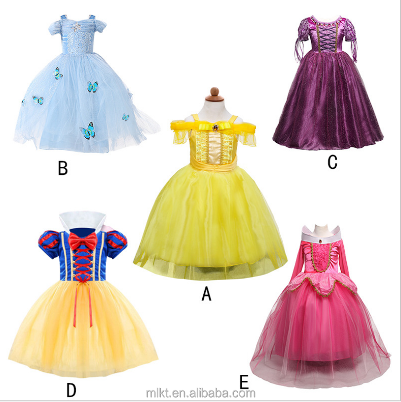 Ventes directes d'usine halloween enfants costume fille robe cosplay costume