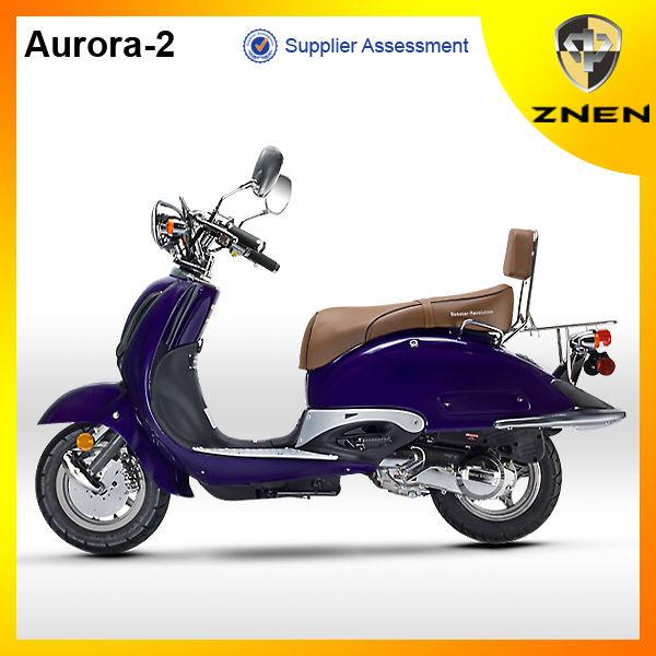 Euro4 50cc / 125cc Petrol Classic Gas Scooter-aurora - Buy Gas  Scooter,Cheap 50cc Scooters,Best 50cc Scooter Product on Alibaba com