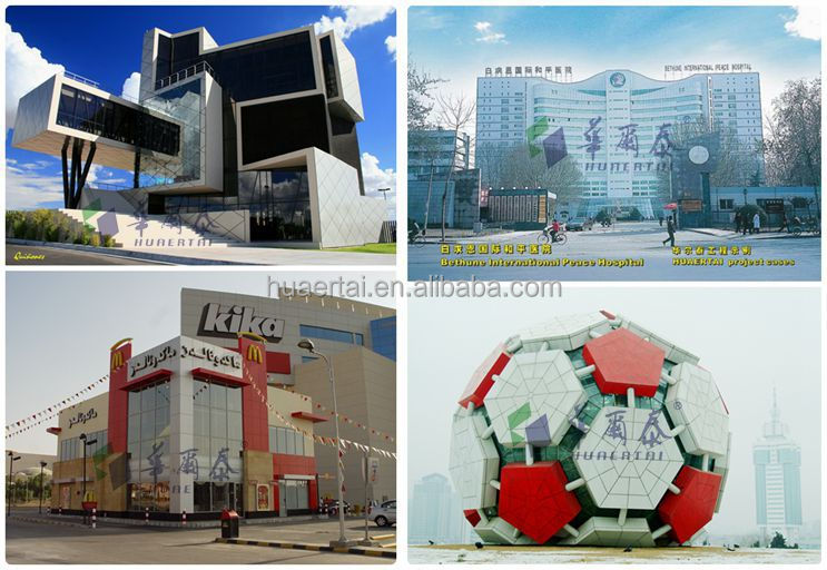 20 years guarantee PVDF coating ACP Wall Cladding aluminum composite panel