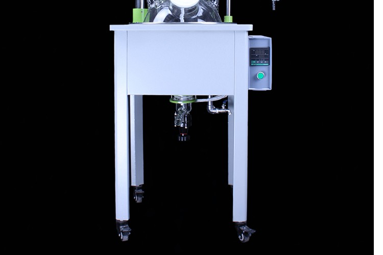 Laboratory 50L Single Layer Glass Reactor Photobioreactor for Chemical