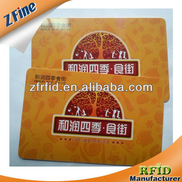 contactless/RF ID Temic Card contactless card