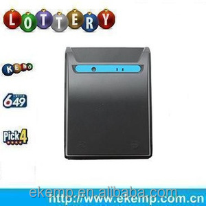CCD Lottery Ticket Barcode Scanner with OCR,OMR ,1D/2D Barcodes