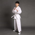 Karate gi fabric 100% cotton heavy weight brushed canvas karate uniform