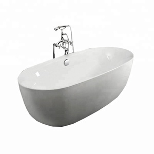 New acrylic free standing small bathtub for fat people sizes