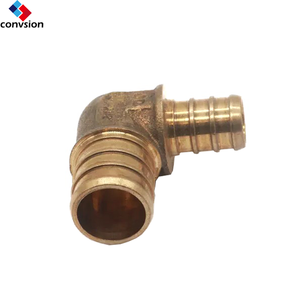 "1/2""*3/4"" Lead Free Brass 90 Degree Male elbow plumbing Fittings Hose Copper Elbow"