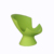Modern hotel leisure chair lounge chair and stool plastic molded Pension outdoor furniture