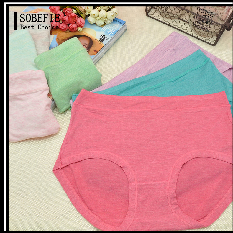 Womens Cotton Underwear Packed Candy Bright Color Panties Cute Girl Panty Pretty Girls Panties