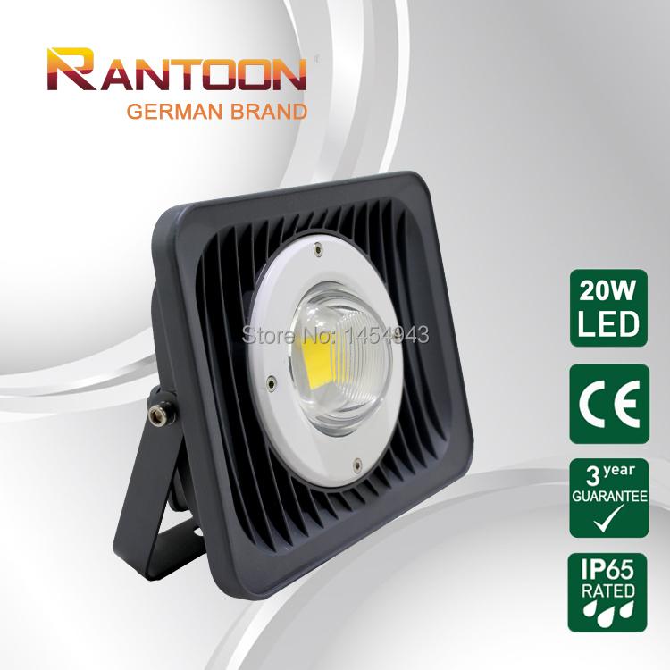 CE&Rohs Certified German Brand LED Flood Light 20W Outdoor