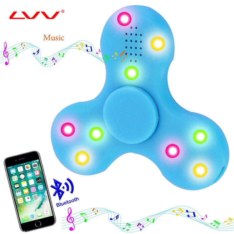 quality chinese products mini speaker wifi dancing speaker fidget spinner