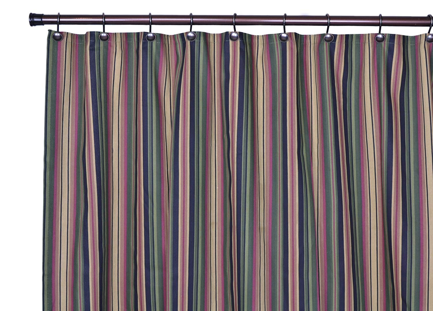 Get Quotations Ellis Curtain Montego Stripe Bathroom Shower Black