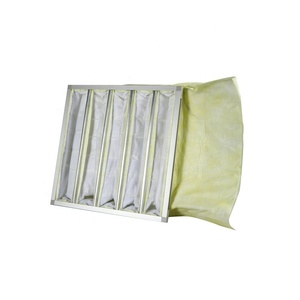 Custom industrial air conditioning medium effect bag air filter