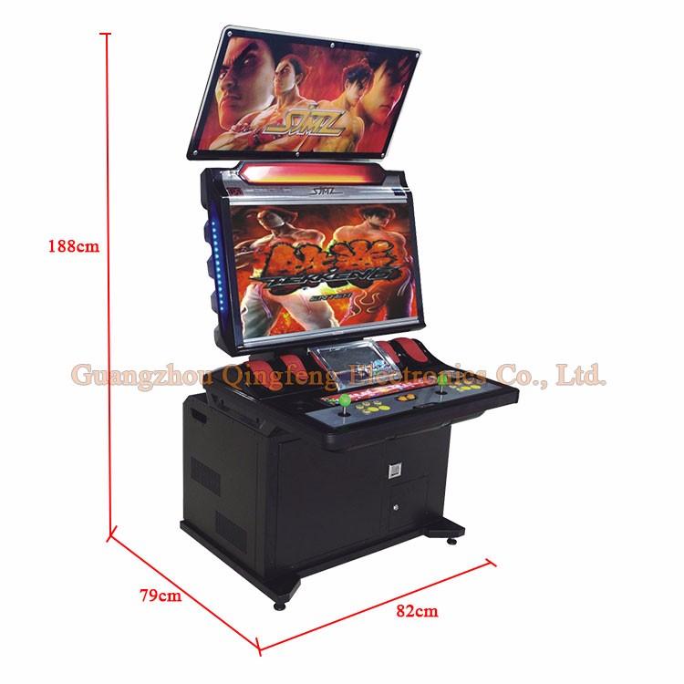 Qingfeng 32 Inch Lcd Screen Cabinet Fighting Game Machine Tekken 5 ...