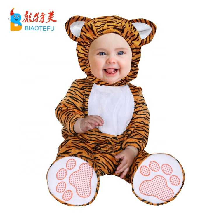 high quality toddlers infant animal tiger cosplay costumes