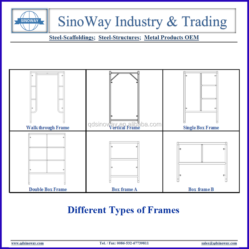Types Of Building Scaffolding Construction For Sale - Buy