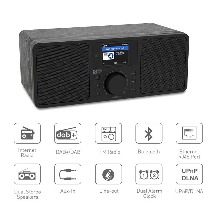 MA-230S stereo internet wifi radio dab/fm with Bluetooth