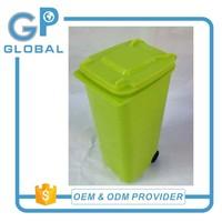 Trash can shaped pen holder,mini trash can put on desk