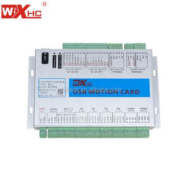 Xhc New Mach4 Usb 4 Axis Cnc Breakout Board Mach4 Cnc Controller Usb Mach4  Motion Control Card - Buy Mach4 Usb Breakout Board,Mach4 Cnc Controller,Usb