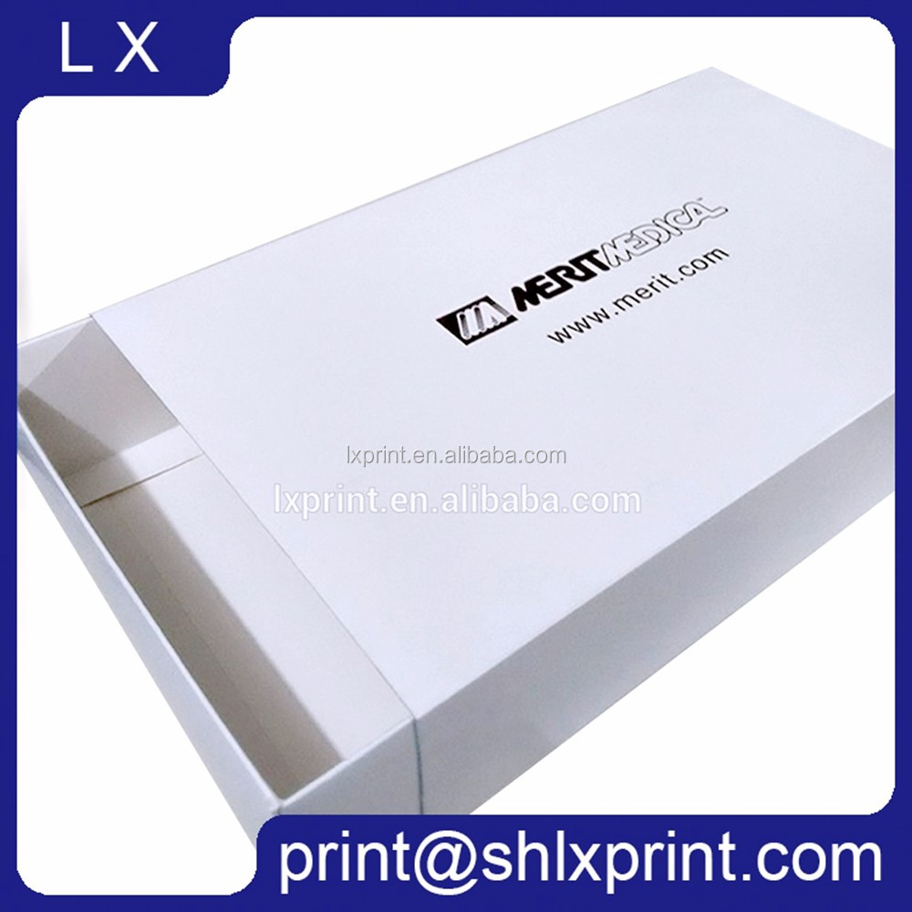Custom Printed White Cardboard Cake Packaging Box