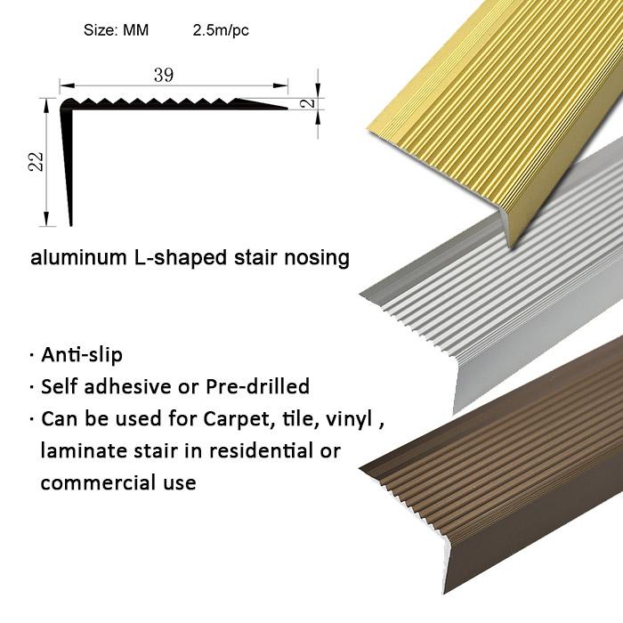 Delightful KSL Stain Resistant Popular Step Nosing Safety Tread Stair Nosings