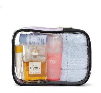 1466307549bf Cheap Reusable Small Clear Pvc Cosmetic Pouch Bag - Buy Clear ...