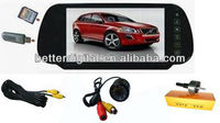 Car rear view bluetooth camera with USB SD MP5