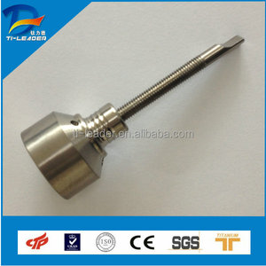 Good price gr2 titanium dabber nails