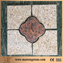 flower pattern granite glow paving stone