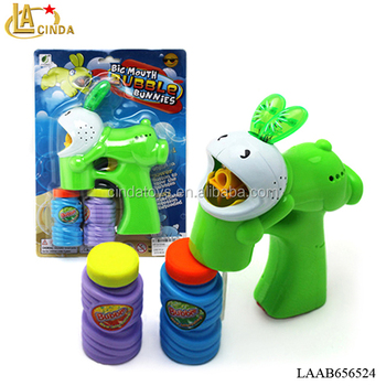 Happy Music Toys Soap Blow Bubbles,Cartoon Bunnies Kids Play Game Bubble  Toy And Bubble Water - Buy Bubble Toy And Bubble Water,Kids Bubble Toy,Kids