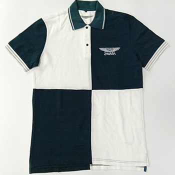 Discount Guangzhou IN STOCK rib green and white US POLO SHIRTS FOR MEN