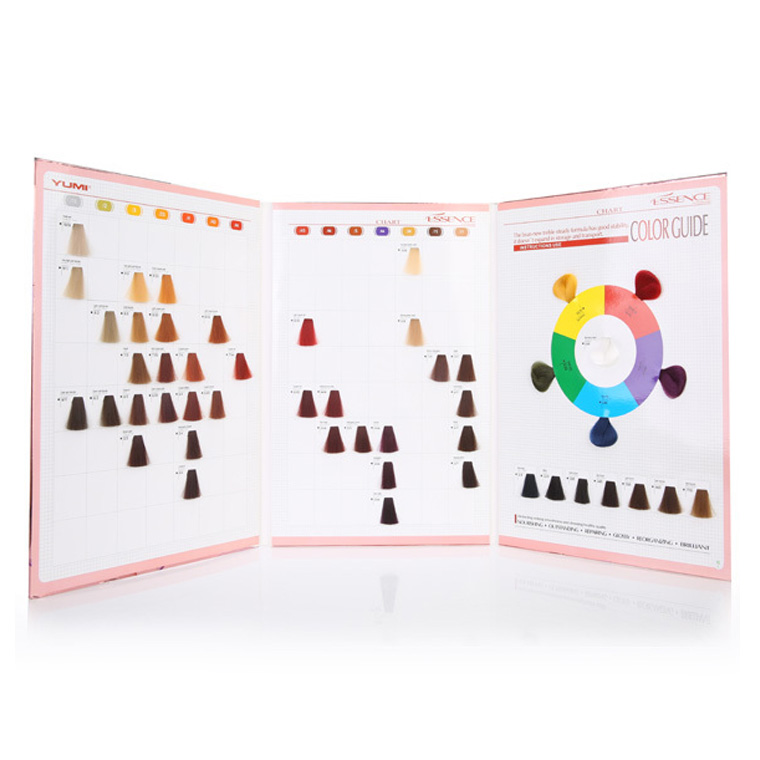 Silky Hair Color Mixing Chart Hair Dye Color Swatch Book Buy Silky