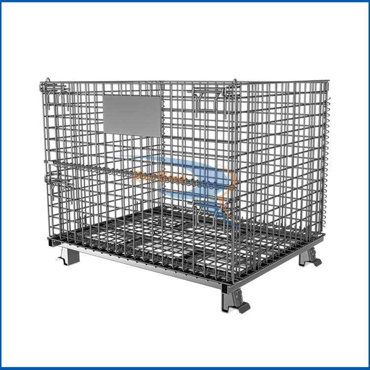 Guangzhou Faltbare Riesige Metall Drahtgeflecht Rolle Container ...