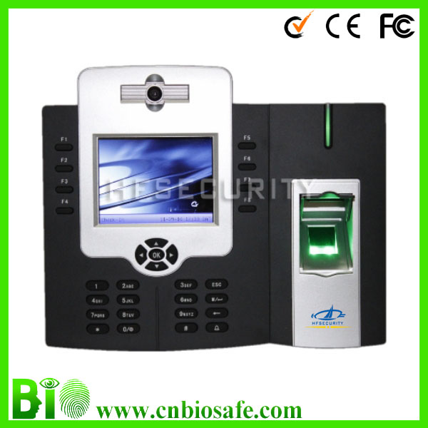 HF-iClock800, Online Time Recorder With Tcp/ip usb Support Sapnish English Time Clock