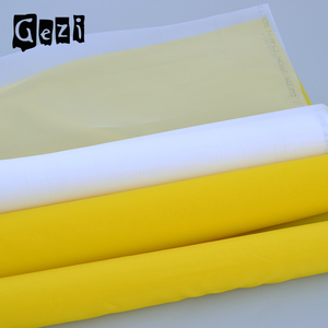 Gezi polyester print mesh fabric/bolting cloth for flour mill and screen printing