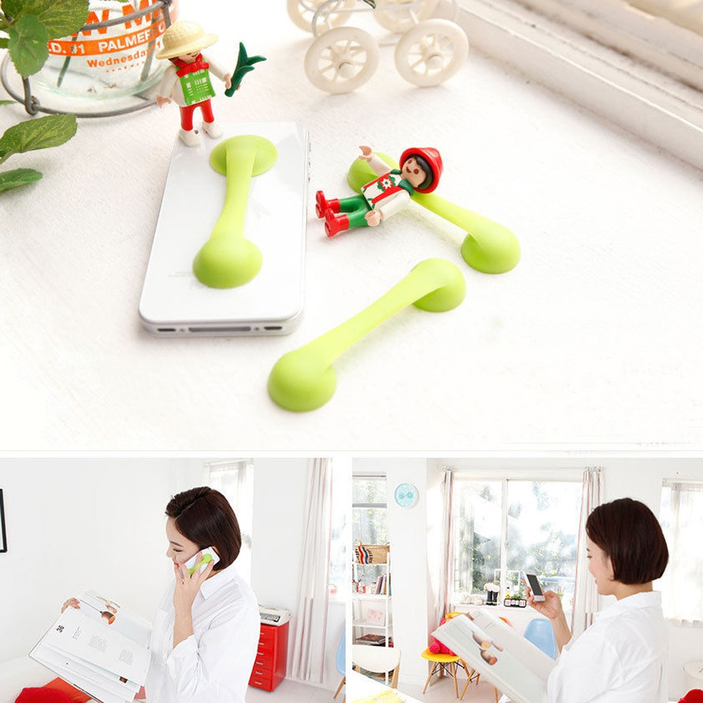 Factory Directly Supply Durable silicone finger grip cell phone holder