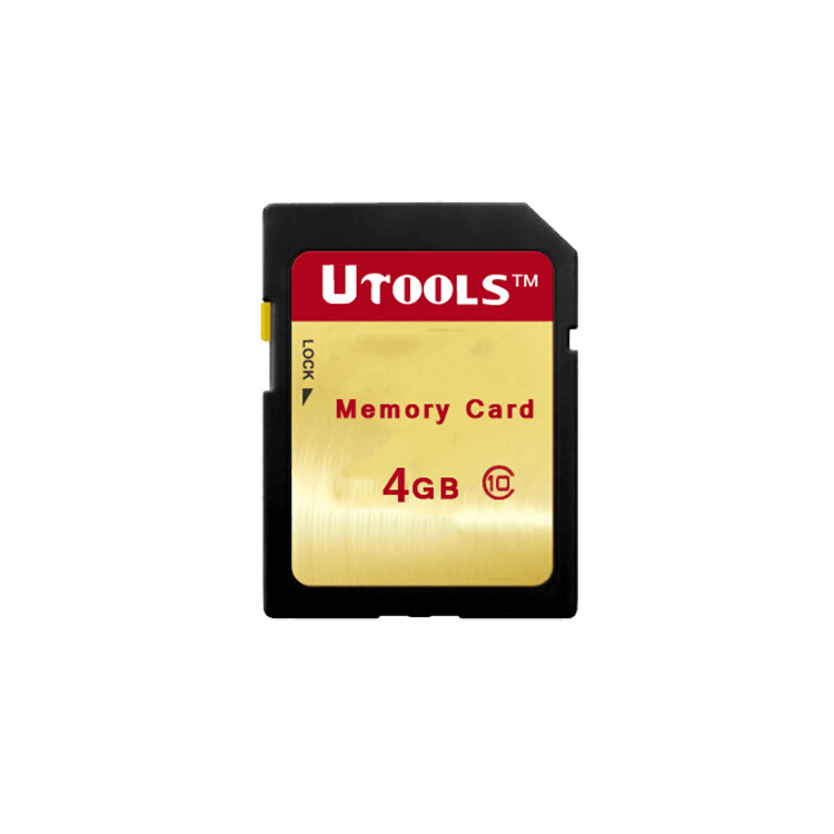 Cheap Price Custom Label Change CID SD Card 4GB Memory Card