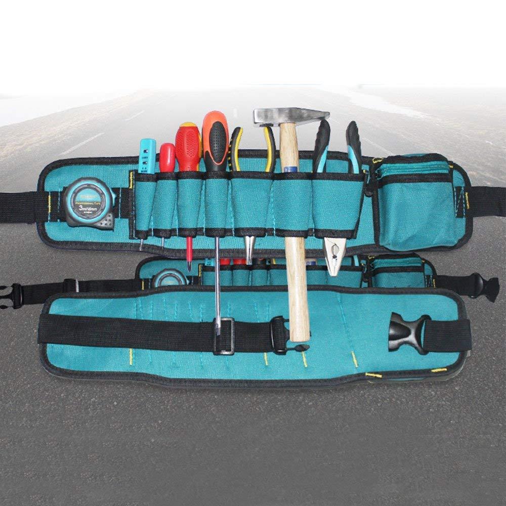 Laz-Tipa - New Waist Tool Bag Utility Pouch Electricians Belt Bag Organizer Tool Belt Pouch Bag Screwdriver Tool Part T0.2