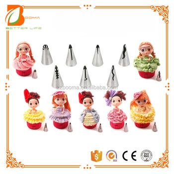 Wholesaler Chinese Supplier Cake Decorating Tools Piping Tips Baking
