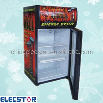 Glass Door Counter Top Refrigerator Display For Beer Drinks Beverage Cooler With Lightbox 215280litre Buy Small Display Fridgeglass Door Counter