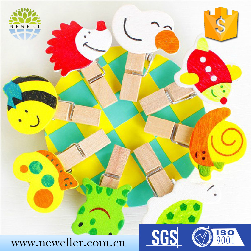 Party decorative decorated wooden peg board used for display with CE certificate