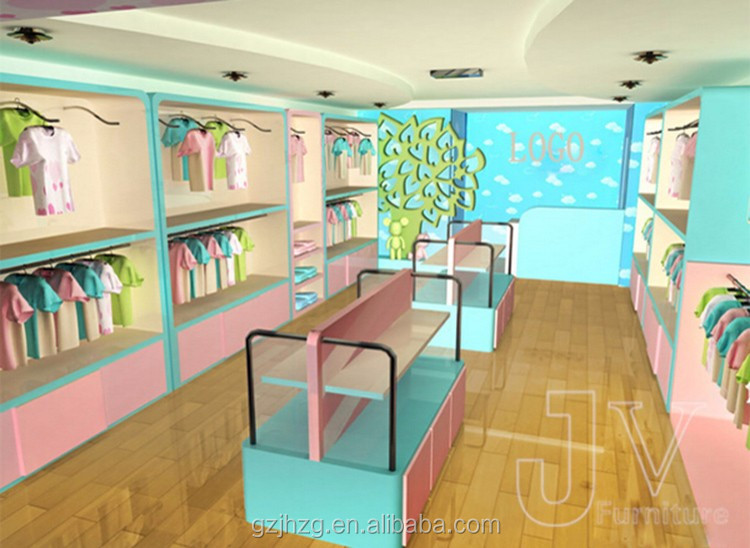 593c0b854c2bd Personnalisé Coloré Drôle Bébé Vêtements Présentoir Pour Enfants ...