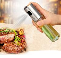 Olive Oil and Vinegar Sprayer Set for Portion Control Cooking and Baking