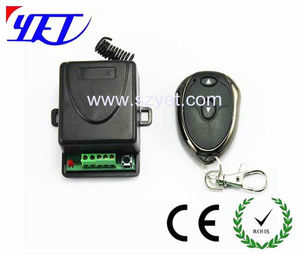 rolling code remote transmitter and receiver wireless remote controller for garage door,auto gate lock open