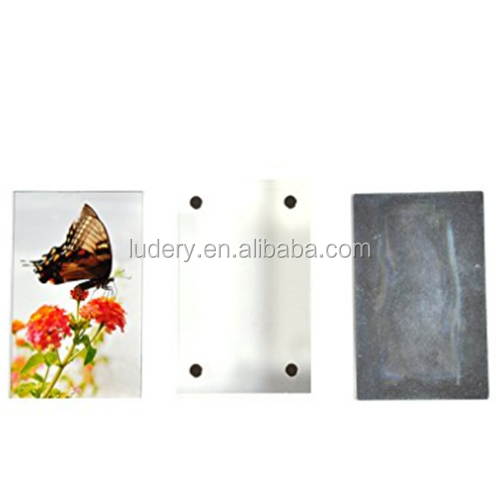 lUDERY 6 inch transparent fashion Acrylic photo frame for instax