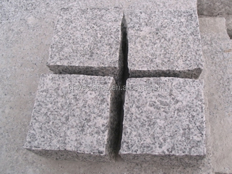 chinese granite paving stones of G603 pavers