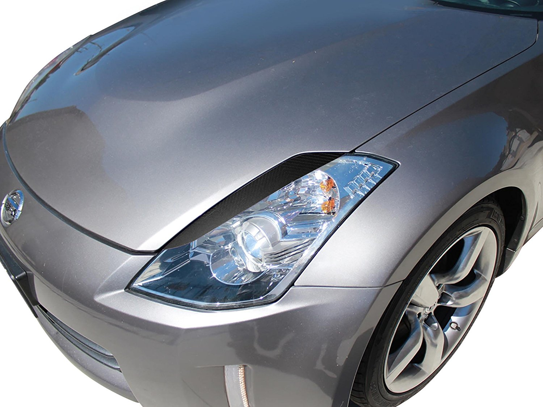 Vicrez Nissan 350Z 2003-2008 VZ Style 2 Piece Carbon Fiber Eyelids - vz100373